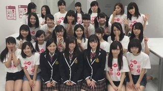SKE48の柴田阿弥、江籠裕奈、後藤楽々がNGT48劇場にサプライズ登場